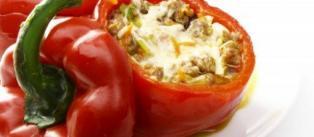 Gevulde paprika met recept